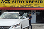 Ace Auto has been my car mechanic for 5 years and came highly recommended from a good friend across the way in Hunter's run.  My automobiles have been extremely well services at a very reasonable cost.